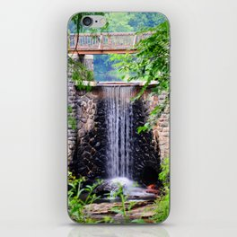 Bass Pond Waterfall iPhone Skin