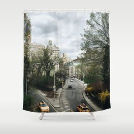 Central Park NYC View Shower Curtain