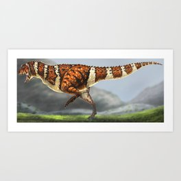 Carnotaurus Restore Art Print
