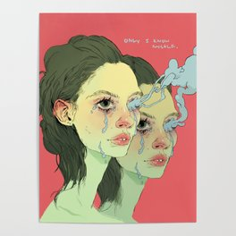 Only I Know Myself Poster