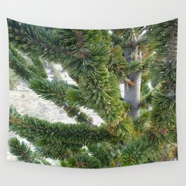 Bristlecone pine needles Wall Tapestry