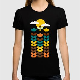 Flowers with bees T-shirt