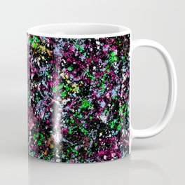 paint drop design - abstract spray paint drops 5 Coffee Mug