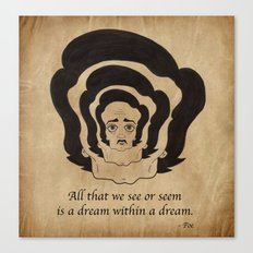 Poe Dream Canvas Print