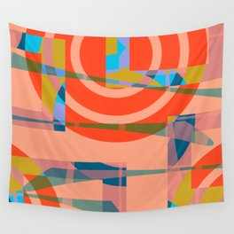 Color graphic fun Wall Tapestry