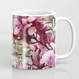 Magnolias at Bethesda Fountain, Central Park in New York City Coffee Mug