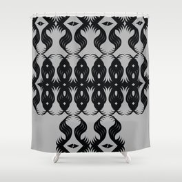 All-Seeing Eyes Shower Curtain