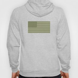 Camo Stars and Stripes – USA Flag in Military Camouflage Colors [FalseFlag 1] Hoody