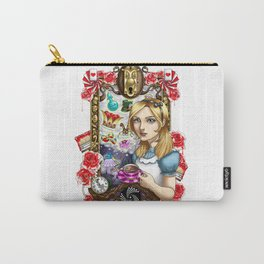 Wreathed in Whimsy : Alice Carry-All Pouch