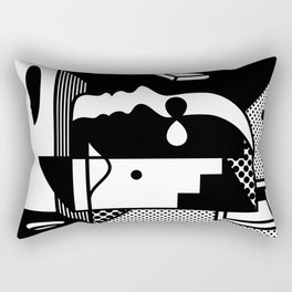 Stairs To The Attic Rectangular Pillow