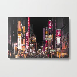 TOKYO CITY III Metal Print