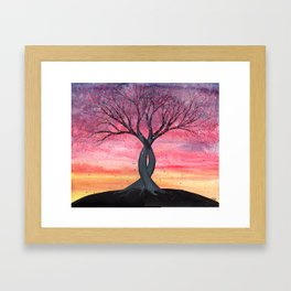 Entwined Framed Art Print