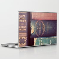 reading Laptop & iPad Skins featuring Sunday Reading by elle moss