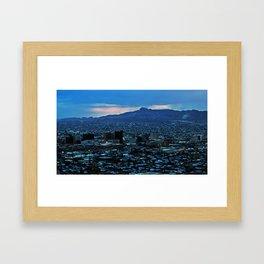 El Paso Framed Art Print