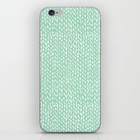 Hand Kit Mint iPhone Skin