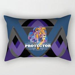 Protector: Lion Rectangular Pillow