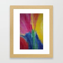 Spiraling Within and Without Framed Art Print