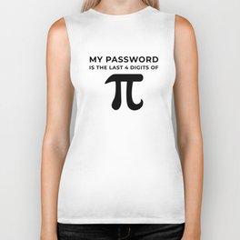 My password is the last 4 digits of PI Biker Tank