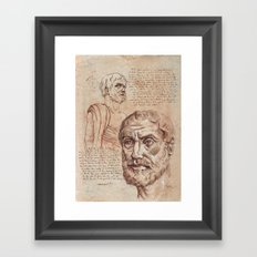 Aristotle Framed Art Print