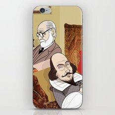 Freud analysing Shakespeare iPhone & iPod Skin