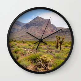Painted Desert - III Wall Clock