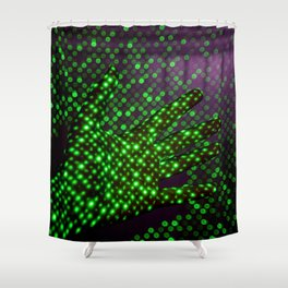 What are Hands (Color) Shower Curtain