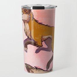 flower fox Travel Mug