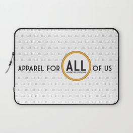 ALL Apparel Co Tagline Laptop Sleeve