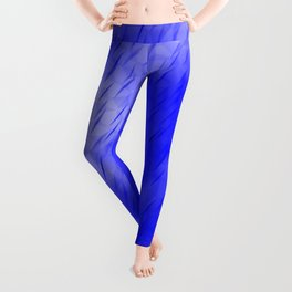 Line texture of blue oblique dashes with a luminous intersection on a luminous charcoal. Leggings