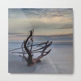 Hitchiker Metal Print