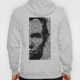 Abraham Lincoln - An American President Stone Rock'd Art Print Hoody