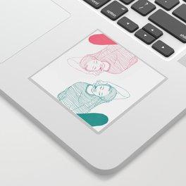Hooked Sticker