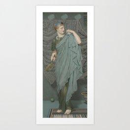 Albert Joseph Moore - Battledore Art Print