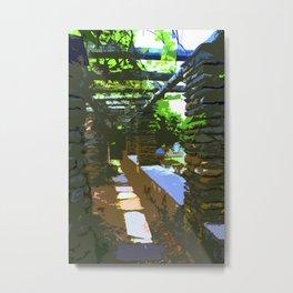 Painted Arch Way  Metal Print