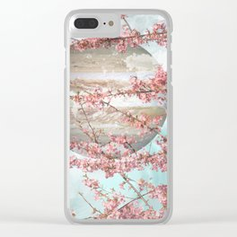 Spring Jupiter Clear iPhone Case