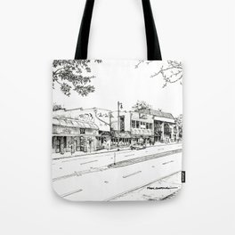 Midtown As Seen from the West Tote Bag