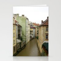 prague Stationery Cards featuring Prague by Marieken