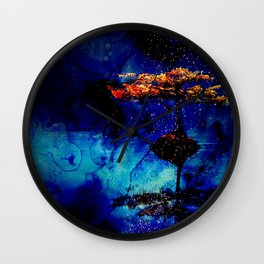 Sparks by the Lake Wall Clock
