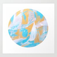 globe Art Prints featuring Globe by Jessica Ciantar