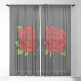 Fiesta Mex Sheer Curtain