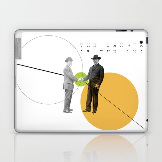 The Language of the Deal Laptop & iPad Skin