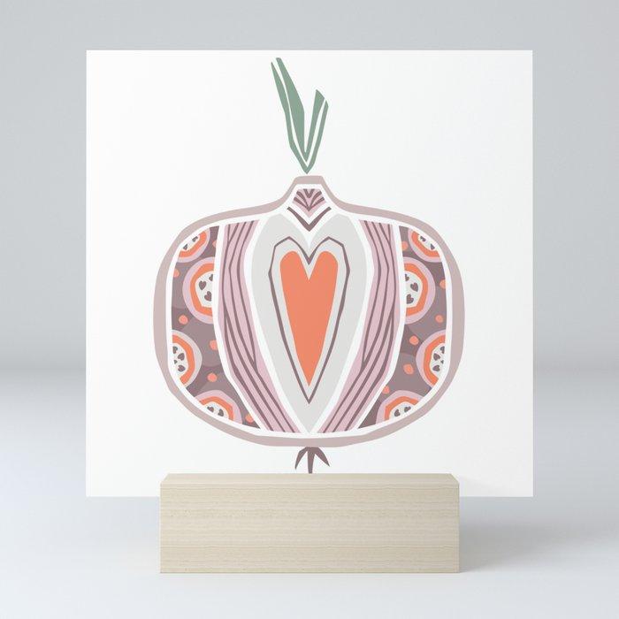 Onion Mini Art Print