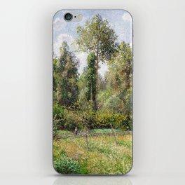 Camille Pissarro Poplars, Éragny iPhone Skin