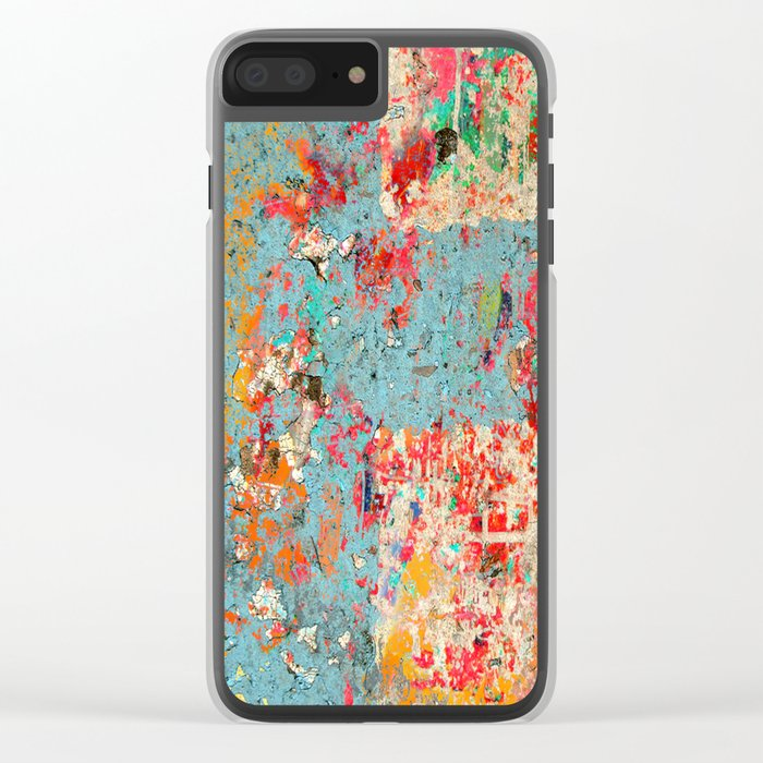 Opinion and Pizza Clear iPhone Case