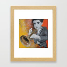 Trumpetist Framed Art Print
