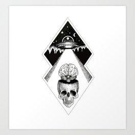 Brain Thief Art Print