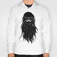 clockwork orange Hoodies featuring It Girl by Ruben Ireland