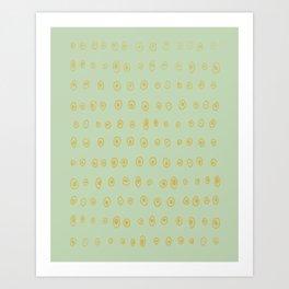 Salt Art Print