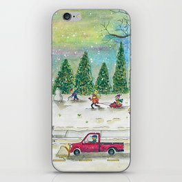 Snow Day iPhone Skin
