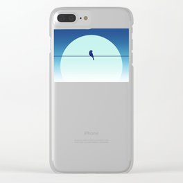 minimal3 Clear iPhone Case